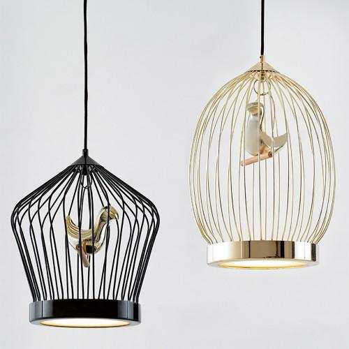 Дизайнерский светильник Gold Cage