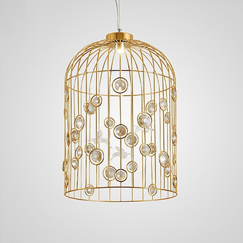 Дизайнерский светильник Gold Cage New