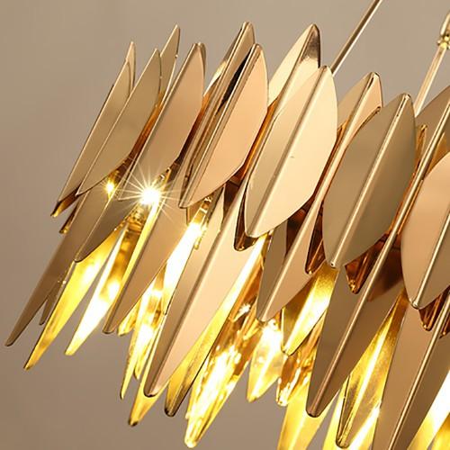 Gold Eagle Chandelier