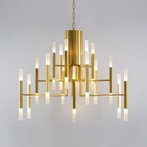 Дизайнерский светильник Gold Sea Chandelier