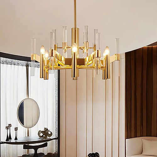 Gold Sea Chandelier 4