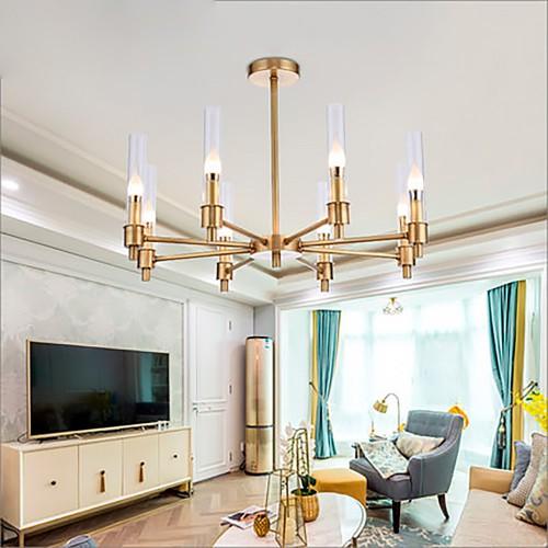 Дизайнерский светильник Gold Sea Glass Chandelier