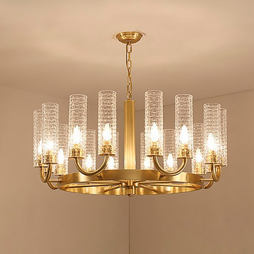 Дизайнерская люстра Gold Sea Glass Chandelier 2