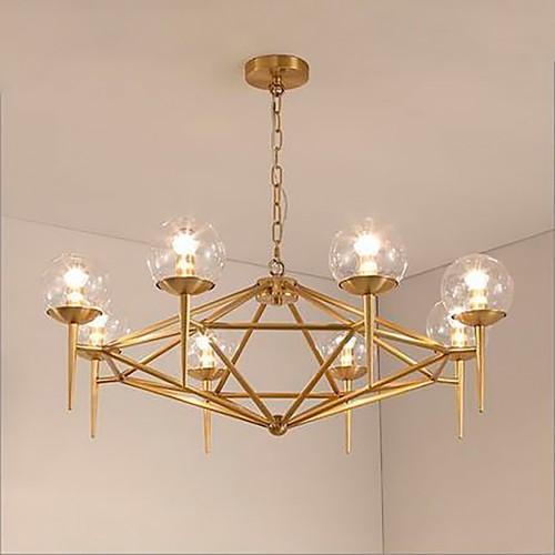 Дизайнерский светильник Gold Sea Line Chandelier