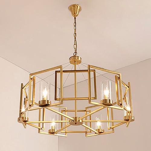 Дизайнерская люстра Gold Sea Round Chandelier