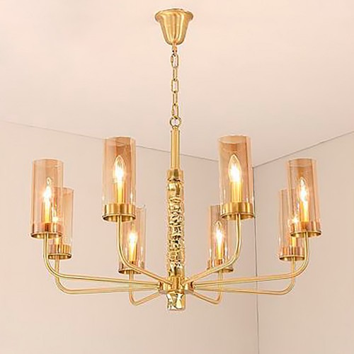 Дизайнерский светильник Gold Sea Glass Chandelier 3