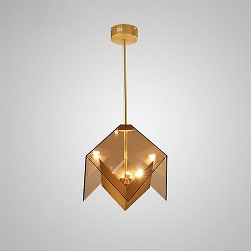 Дизайнерский светильник Golden Cube Chandelier
