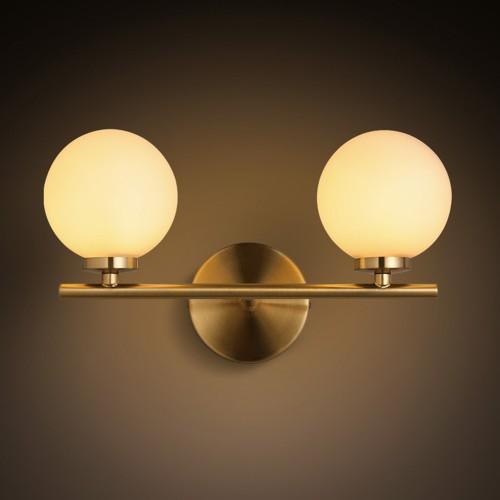 Дизайнерский бра Golden Mid Double