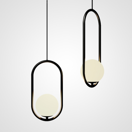 Дизайнерский светильник Hico Round Black