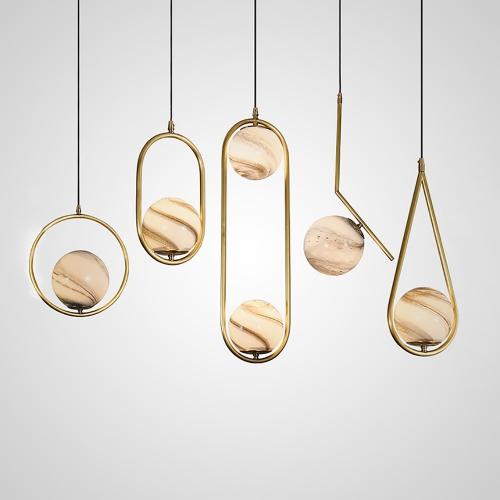 Дизайнерский светильник Hico Round Moon Design