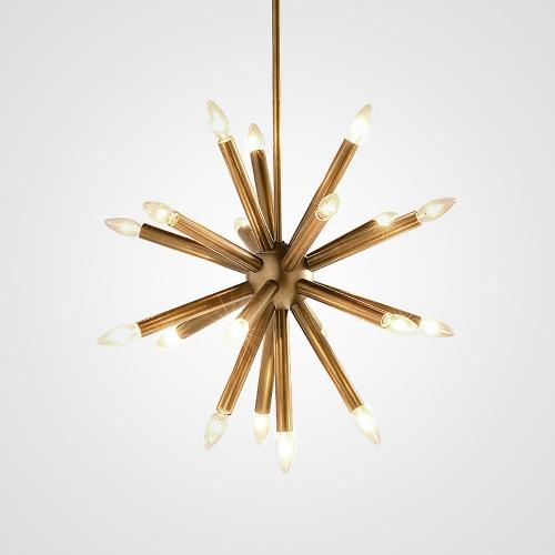 Дизайнерский светильник Hole Brass Hedgehog