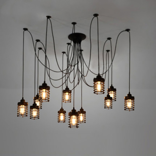 Светильник LOFT Industrial Edison Chandelier 2