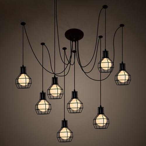 Светильник LOFT Industrial Edison Chandelier 3