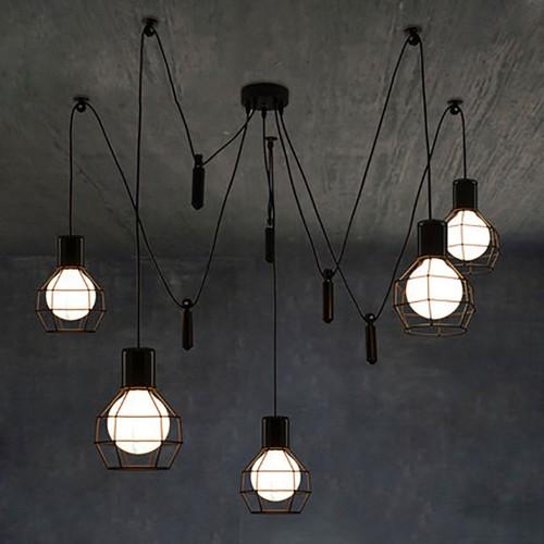 Светильник LOFT Industrial Edison Chandelier 4
