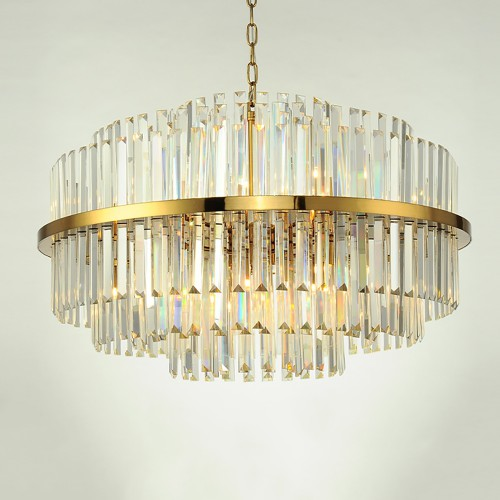Дизайнерская люстра Kebo Brass Color Chandelier