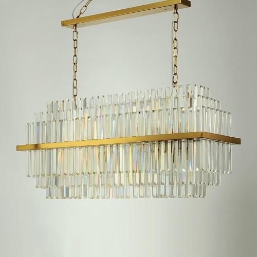 Дизайнерская люстра Kebo Brass Color Line