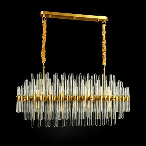Дизайнерская люстра Kebo Form Brass Line