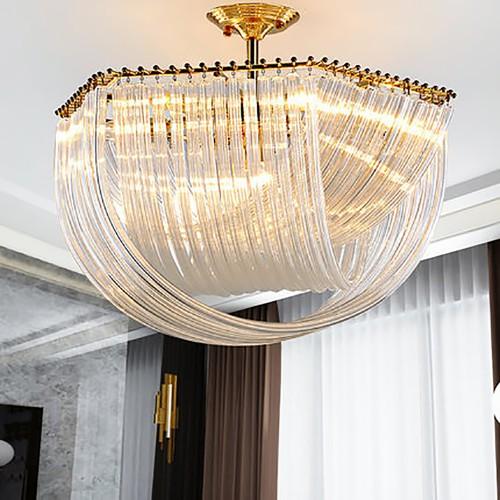 Дизайнерский светильник Kebo Gold Glass Lustre