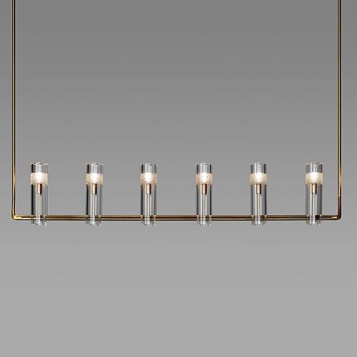 Дизайнерская люстра Kebo Line Brass
