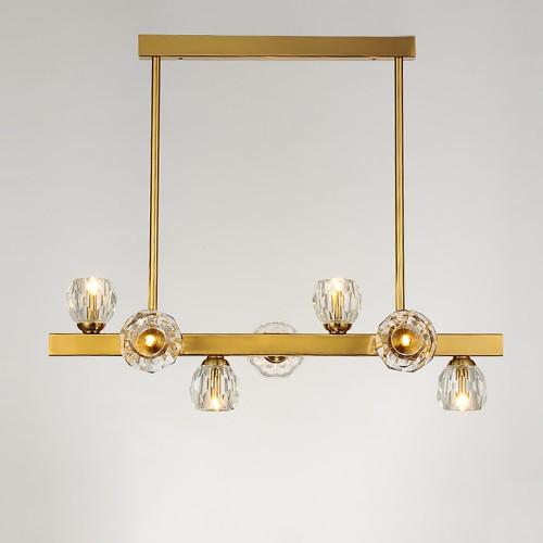 Дизайнерская люстра Kebo Line Brass Design
