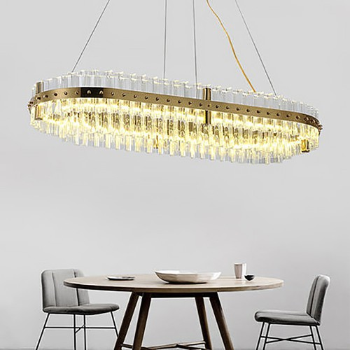 Kebo Oval Chandelier