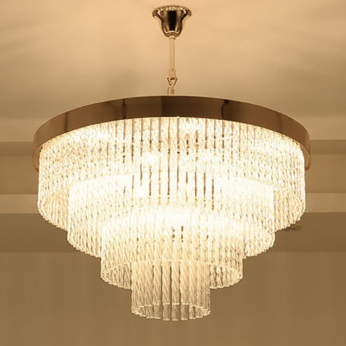 Kebo Pink Gold Chandelier