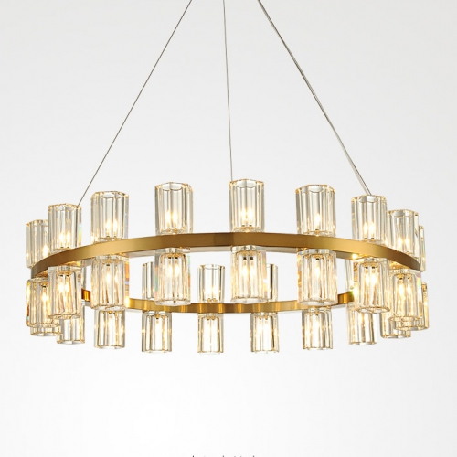 Дизайнерская люстра Lampadario Brass Chandelier