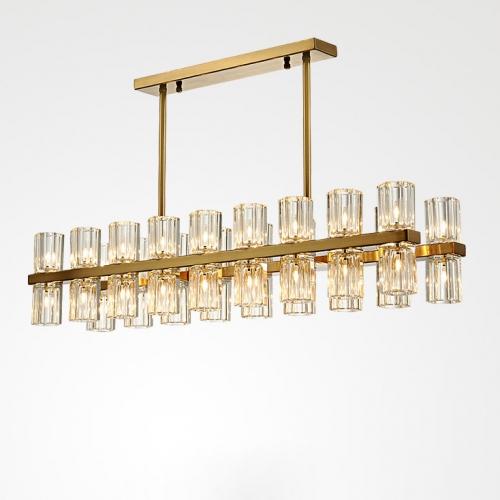 Дизайнерская люстра Lampadario Brass Line Chandelier