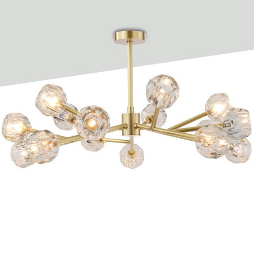 Lampadario Brass Luxury Chandelier
