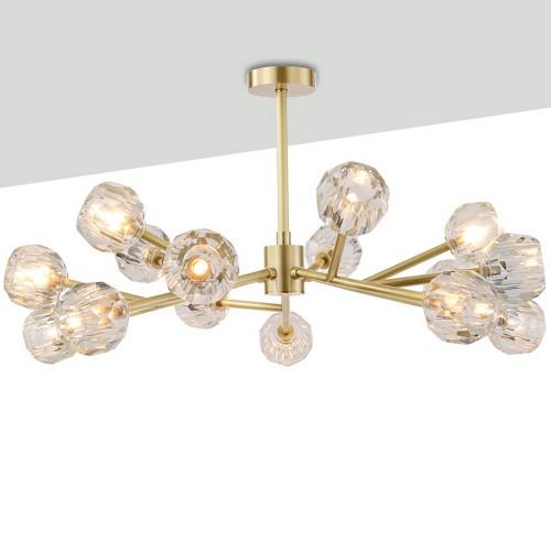 Lampadario Brass Luxury Chandelier