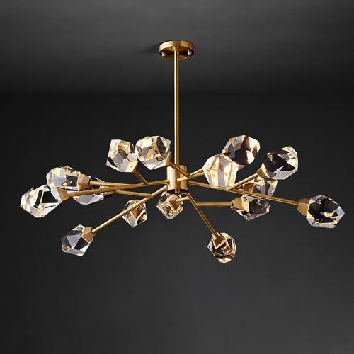 Дизайнерский светильник Lampadario New Brass