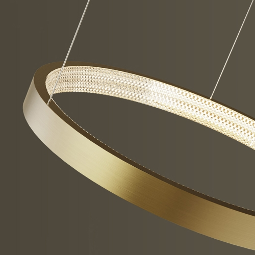 Light Ring Brass
