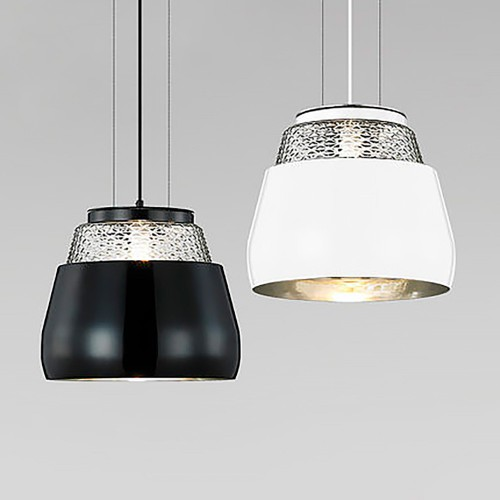 Lodo pendant black/white