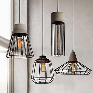 Светильник LOFT Beton Edison Lamp