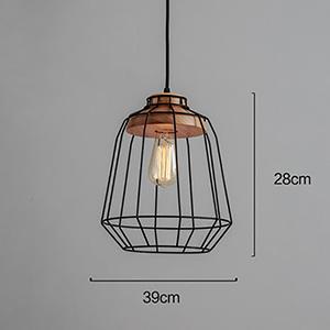 Beton Edison Lamp
