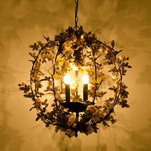 Подвесной светильник LOFT Garden Lustre