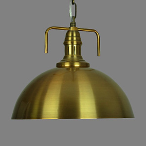 Gold Industrial Lamp