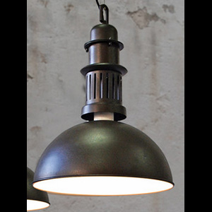 Copper Cilinder Lamp