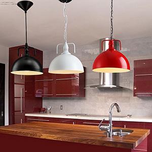 Multicolor Metal Lamp