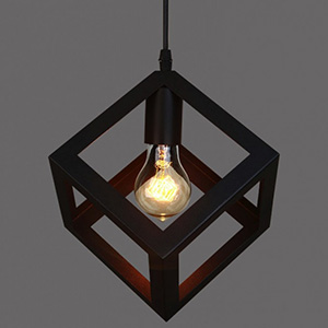Светильник LOFT Cube Black