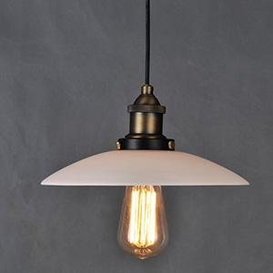 Подвесной светильник LOFT Edison milk