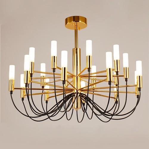 Дизайнерский светильник Louse Milan Gold