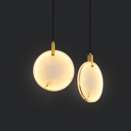 Дизайнерский светильник Lux Marble Brass