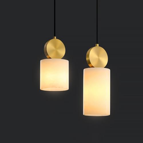 Дизайнерский светильник Lux Marble Brass 3