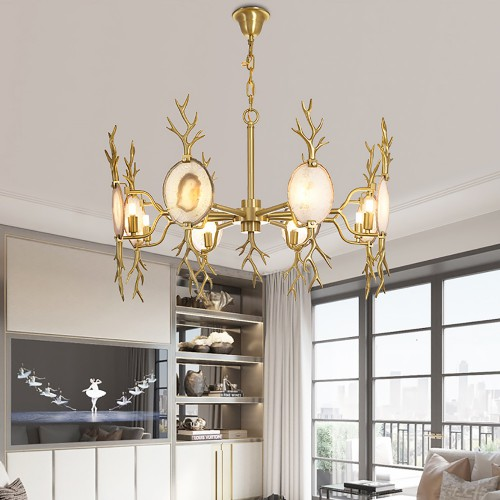 Luxury Deer Chandelier