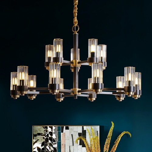 Luxury Modern Black Chandelier 2
