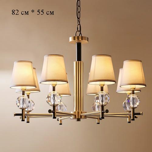 Дизайнерский светильник Luxury Modern Brass Chandelier 2