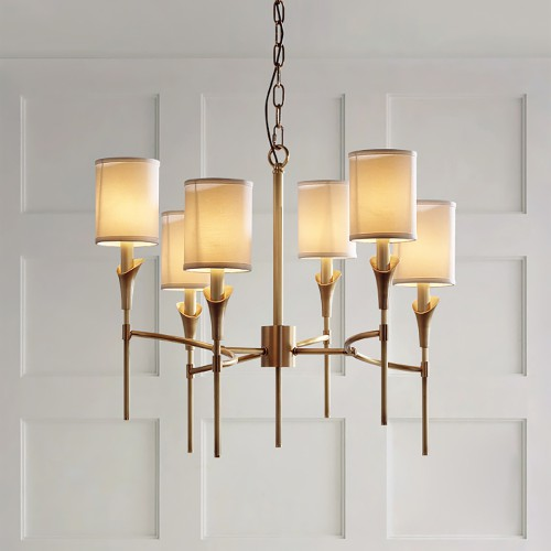 Luxury Modern Brass Chandelier