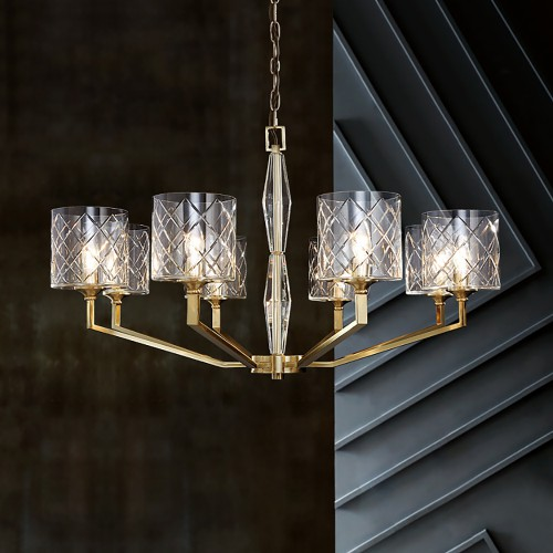 Luxury Modern Brass Chandelier 3