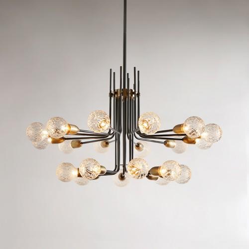 Дизайнерская люстра Luxury Modern Brass Spider
